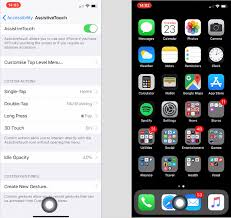 Apple iPhone X home button hack with iOS Accessibility