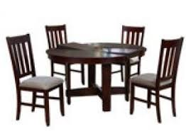 china cherry aaron dining room set with 4 dining chairs wooden