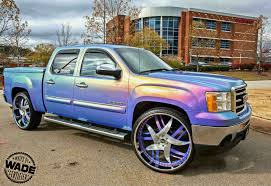 Check Out The Insanely Modified Sierra Standing On 30