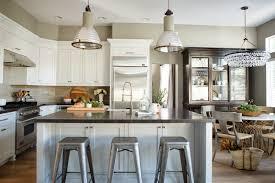 kitchen lighting industrial light fixtures square antique nickel