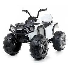 Kids Electric 12V Twin Motor Quad Bike - White – Micro Bikes UK Amazoncom Kid Trax Red Fire Engine Electric Rideon Toys Games Tonka Ride On Mighty Dump Truck For Kids Youtube Buy Kids Cars Childs Battery Powered Rideon Bestchoiceproducts Best Choice Products 12v Ride On Semi Truck Memtes Toy With Lights And Sirens Popular Chevy Silverado 12 Volt Car 2018 New Model 4x4 Jeep Battery Power Remote Control Big Orange 44 Defender Off Roader Style On W Transformers Style Childrens For Ford F150 Wheels