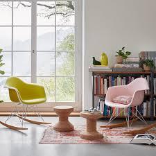 vitra eames plastic armchair rar ahorn gelblich chrom weiß sitzhöhe 37 cm