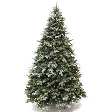 Best Choice Products 75 Ft Prelit Premium Frosted Spruce Hinged Artificial Christmas Tree W
