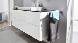 interliving bad serie 3701 waschtischunterschrank weiße hochglanz lackoberflächen breite ca 120 cm