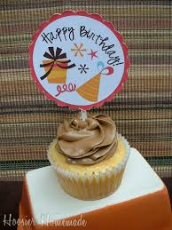 Cupcake Toppers Free Printable