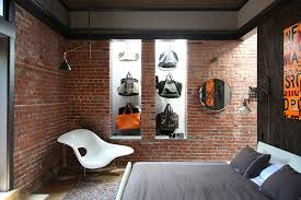 View In Gallery Fashionable Collection Of Bags On Display The Quirky Bedroom