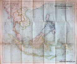 Philips Authentic Imperial Maps For Tourists Travellers East