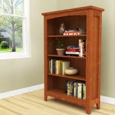 mission bookcases foter