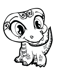 Free Baby Animal Coloring Pages To Print Cute Zoo Animals Colouring Intended Full Size