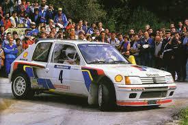 Peugeot 205 Turbo 16 WRC 1985 Timo Salonen