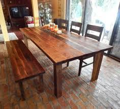 Dawns Reclaimed Wood Farmhouse Dining Table