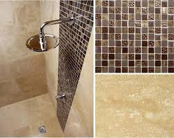 pleasant mosaic tile patterns for shower for decorating home ideas