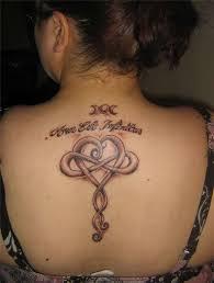 Irish Celtic Tattoos Knot Trinity Harp Band 19