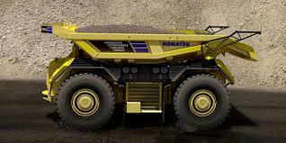 100 Dump Truck Drivers Autonomous Komatsu Unveiled New Heavy Duty With