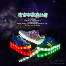 children led shoes boys lighting flash light up