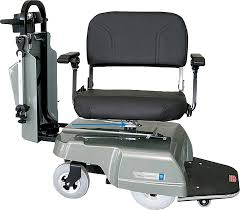 Bariatric Transport Chair 24 Seat by Motorized Patient Transport Chairs Ergo Express