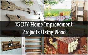 15 DIY Home Improvement Projects Using Wood1 600x381