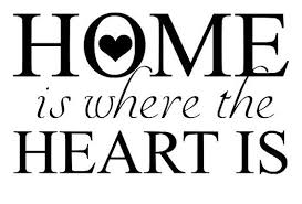 Home Is Where The Heart Quote Awesome Svg File