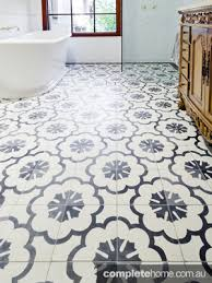 bringing back patterned floor tiles completehome