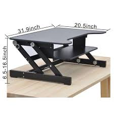 Diy Standing Desk Riser by Best Height Adjustable Workstation Risers Raise Your Work To A