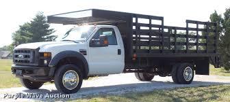100 F550 Truck 2008 Ford Super Duty XL Flatbed Truck Item DD7257 S