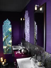 salle de bain mauve chantier décoration salle de bain mauve