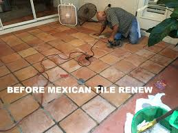 Saltillo Tile Sealer Exterior by Tile Cleaning Stripping And Sealing Mexican Tile Sarasota