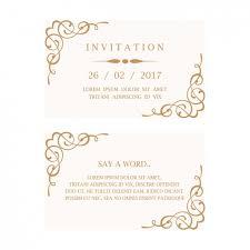 wedding invitation card April onthemarch