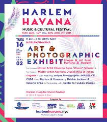 Harlem Hospital Mural Pavilion by Harlem Havana Schedule Silicon Harlem