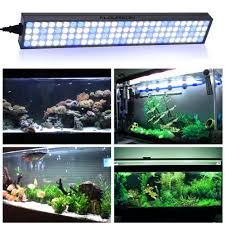 floureon 60 w 25 pouces led aquarium light fish tank lumière