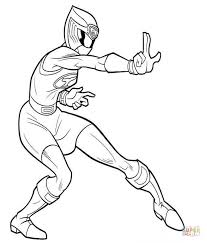 Barbie Coloring Pages Power Rangers