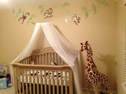 Bratt Decor Venetian Crib Craigslist by Nursery Safari Theme Homemade Mosquito Net Canopy Baby