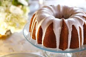 Lemon Poppy Seed Cake with Lemon Glaze A lemony poppy seed sour cream bundt cake