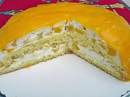 schmand sahne torte à la mathias mit mandarinen