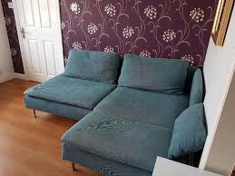 Ikea Soderhamn Sofa Bed by Sofa Ikea Soderhamn 1 Year Old Great Condition Turquoise In