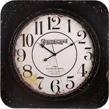 Bulova Table Clocks Wood by Beige Cream Wall Clocks Wall Decor The Home Depot