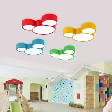 multicolor schöne kinder beleuchtung jugendlich schlafzimmer kindergarten led deckenleuchte luminaria oberfläche led le farbige