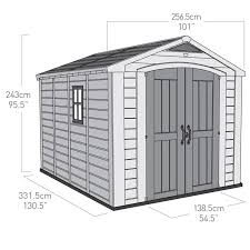 Rubbermaid Shed 7x7 Manual by Best 25 Keter Sheds Ideas On Pinterest Brick Shed Keter