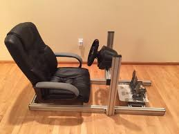 DIY Sim Rig - 8020 Aluminum, No Cutting Involved. : Simracing Custom Gaming Chair Mod Building A Diy Flightdriving Sim Pit On Budget Vrspies 8 Ways To Stop Your From Rolling Rig 8020 Alinum No Cutting Involved Simracing Brilliant Diy Desk Pc Modern Design Models Homemade Big Tv Pc Gaming Chair Youtube How Build Pcps3xbox Racing Wheel Setup In Nohallerton North Chairs Light Brown Fniture Jummico X Rocker Mission A Year Of Pc With Standing Desk Gamer F1 Seat