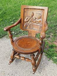 Victorian Antique German Wood Carved Oak Pub Rocking Chair ... Details About Copper Grove Taber Oak Carved Rocker Chair 25 X 3350 4 Danish Carved Oak Armchair Dated 1808 Bargain Johns Antiques Victorian Antique Rocking Vintage Childs Rocking Chair Ssr Childs Hand Elephant In So22 Sold Era With Leather 1890s Ornate Lift Glastonbury Armchair 639070 Larkin Soap Company Ribbon Back Wainscot Second Half 17th Century Isolated