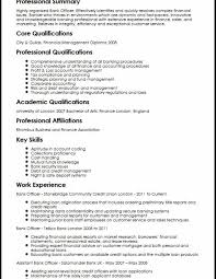 Resume Samples For Bank Jobs Funfpandroidco
