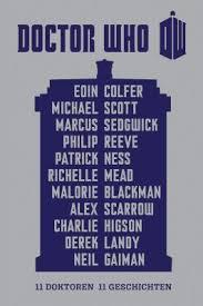 leserunde zu doctor who 11 doktoren 11 geschichten