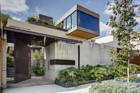 100 Concrete House Designs A In Mexico City Surrounded By Gardens Design Milk