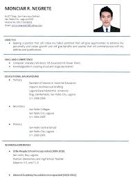 Sample Resume Computer Engineer For Engineering Students Science Lecturer