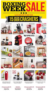 Kitchen Stuff Plus Boxing Week Sale December 26 to January 3 Canada