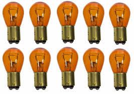 sylvania zevo led 1157 1157a orange two bulbs upgrade