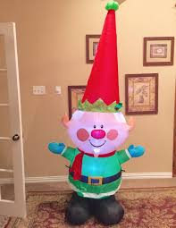 Gemmy Inflatable Halloween Train by Image Gemmy Prototype Christmas Elf Inflatable Airblown Jpg