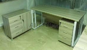 bureau en bois a vendre bureau en bois à vendre à dans matériels professionnels avito ma