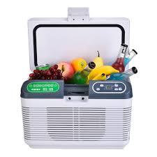 12L DC 12V/24V Portable Car Refrigerator Compressor Mini Auto Fridge ...