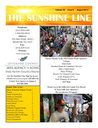 100 Mike Miller And Associates August Sunshine Line 2019 JCAAA
